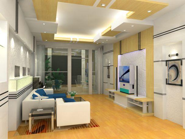 Hình ảnh mẫu trần thạch cao cho Phòng Khách hiện đại đẹp nhất 2019