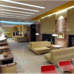 Hình ảnh mẫu trần thạch cao quán Cafe đẹp thiết kế Ấn Tượng