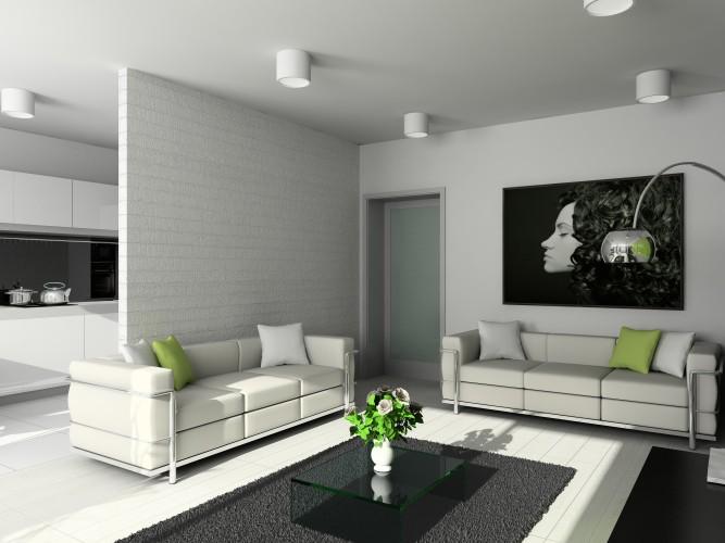 Làm vách ngăn thạch cao cho phòng khách giá rẻ tại hà nội